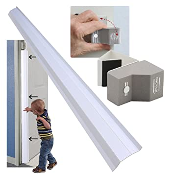 Beau Bundle With 2 Items: PinchNot Home Door Shield Guard For 90 Degree Door  With PinchNot