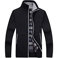 Deals on Vcansion Mens Classic Soft Thick Knitted Cardigan Sweaters