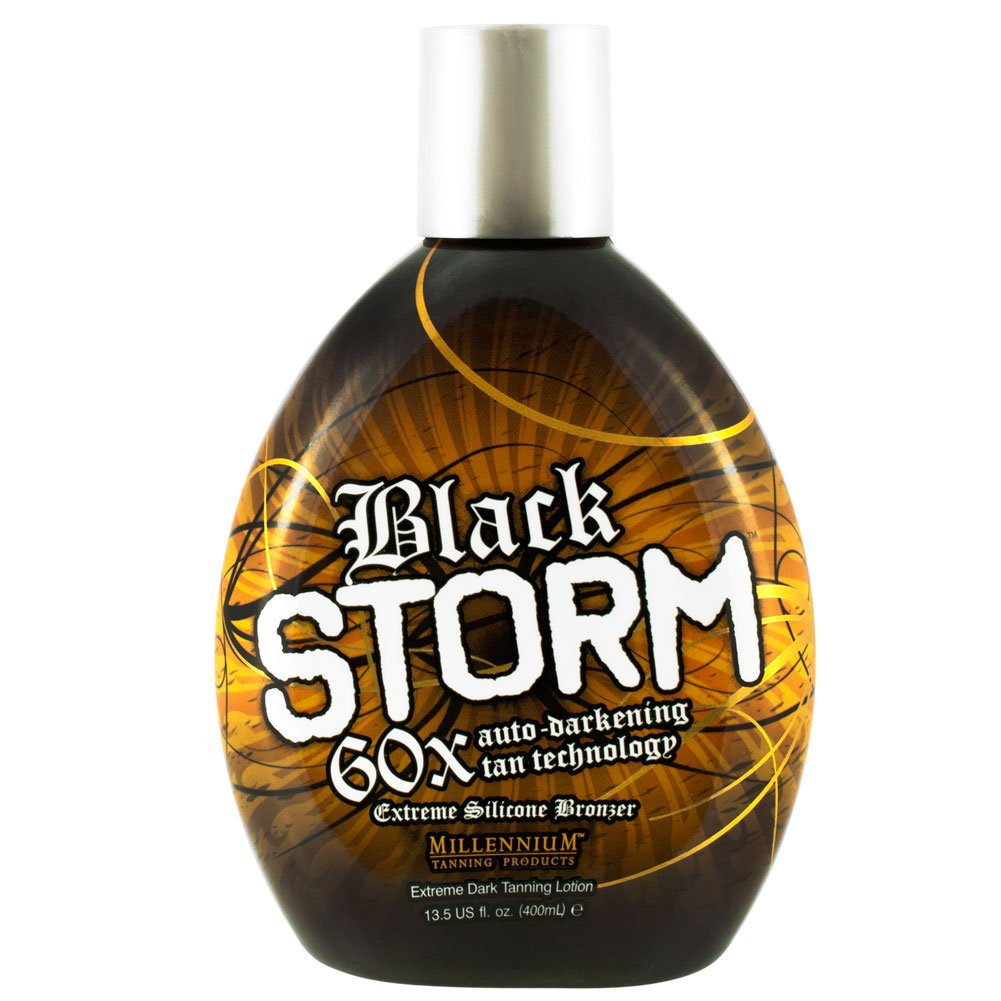 Amazon millennium black storm 60x bronzer indoor dark amazon millennium black storm 60x bronzer indoor dark accelerator lotion tanning bed self tanning products beauty ccuart Gallery