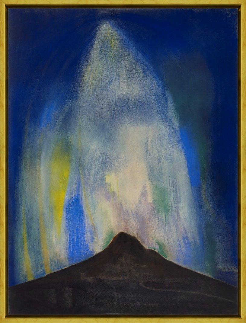 Berkin Arts Rahmen Joseph Stella Giclée Leinwand Prints Gemälde Poster Reproduktion(Pyrotechnische Feuer)