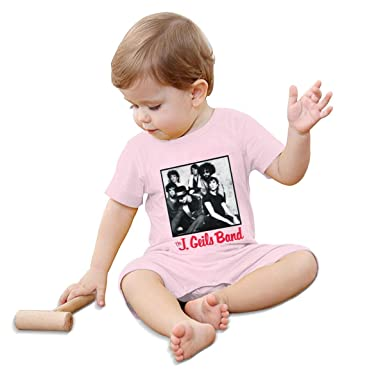 RhteGui The J.Geils Band Rompers Solid Infant Short Sleeve Pajamas Unisex Cotton Summer for 0-24 Months