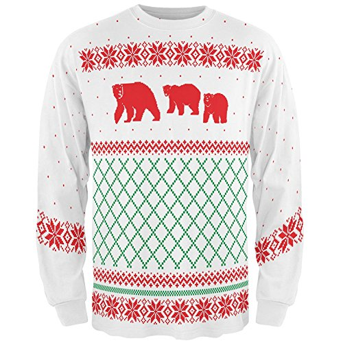 Polar Bears Ugly Christmas Sweater