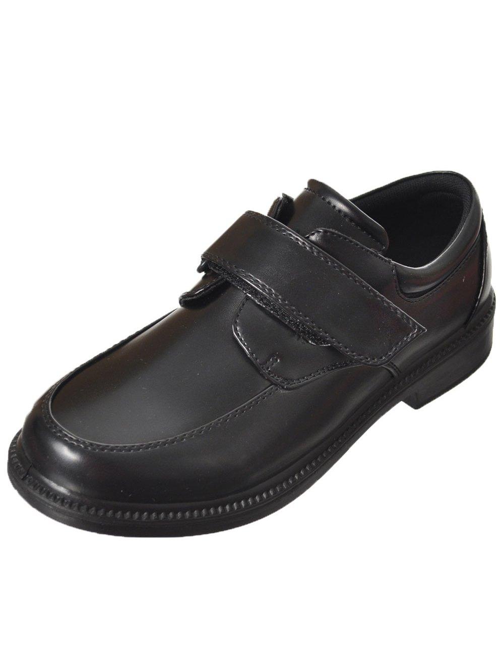 French Toast Boys Eric Uniform Dress Shoe Black 1