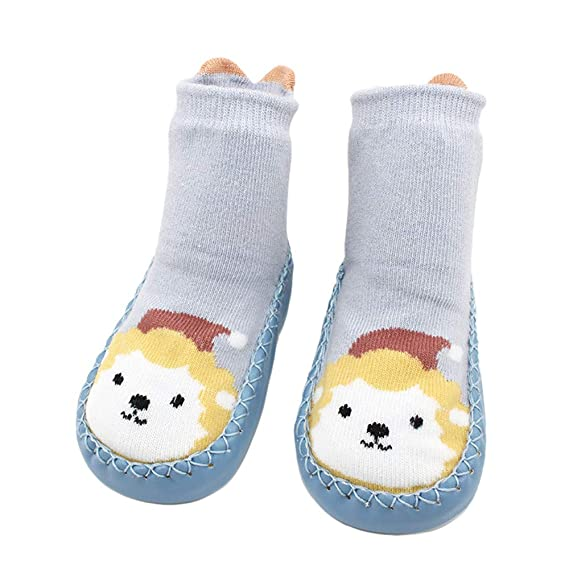 Calcetines para niño K-youth Animales de Dibujos Animados Calcetines de Bebé Unisexo Niñito Infantil