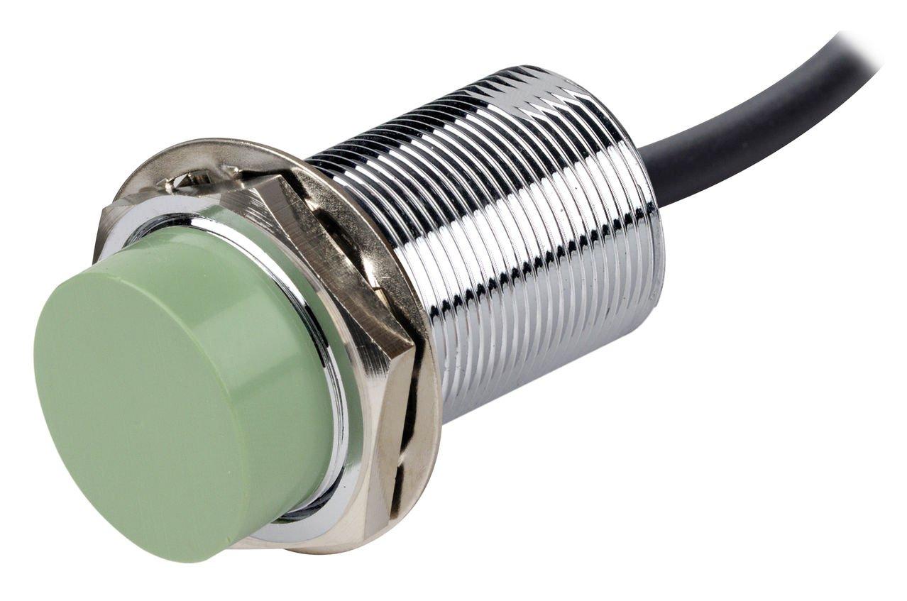 AUTONICS CR30-15AC Sensor, Capacitive Prox, 30mm Round, Non-Shielded, AC, NC, 2 Wire, 90-250 VAC