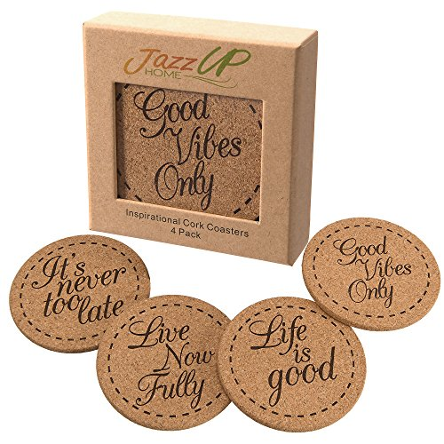 Beverage Coasters Inspirational Hand Crafted Packaging product image