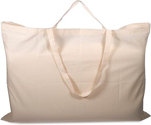 5 Pack XXL plegable respetuoso con el medio ambiente algodón ...