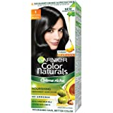 Garnier Color Naturals Shade 1 Natural Black, 70ml + 40g