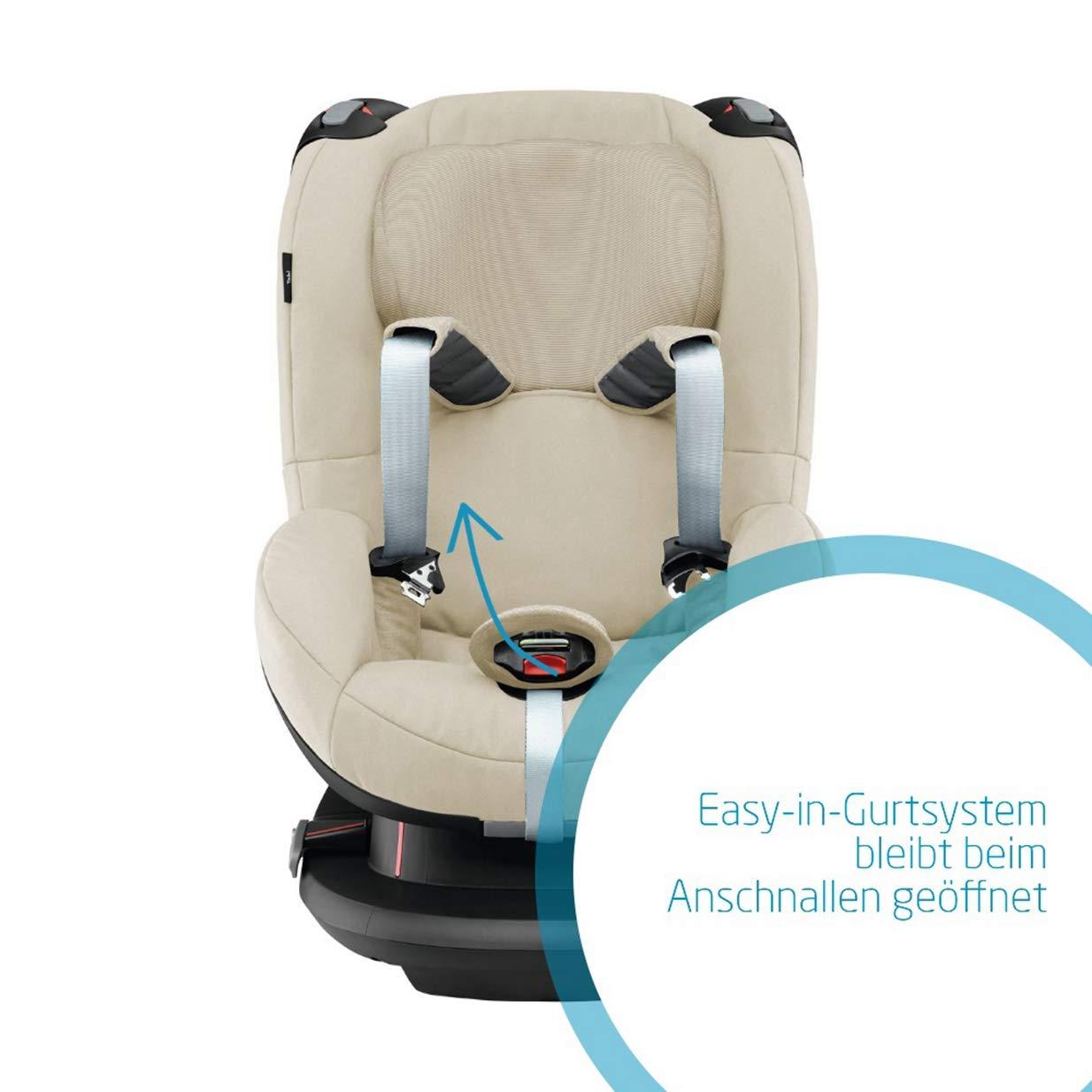 grau Maxi-Cosi Tobi Kleinkinder-Autositz Installation mit Sicherheitsgurt 9-18 kg 9 Monate 4 Jahre Authentic Grey