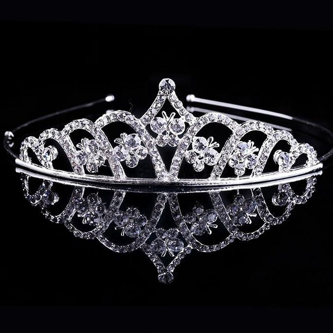 1 opinioni per Corona Butterfly tiara diadema strass accessori capelli  acconciatura sposa f2b11dd5fa0d