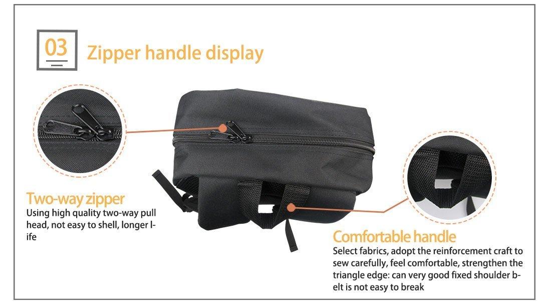 Bigcardesigns Deep Sea Animal Shark Backpack Blue School Bag for Boys Girls Fashion Knapsack by Bigcardesigns (Image #5)