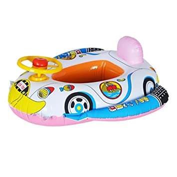 Biback Flotadores para Niños Hinchable Anillo de Natación Inflable bebé Infante Niño Infantil Piscina Asiento del