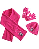 Girls Hello Kitty Scarf Hat and Gloves Set