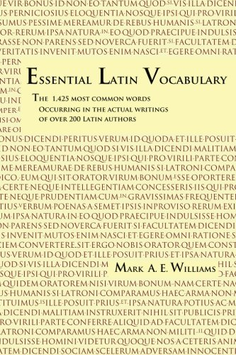 essential latin vocabulary the 1 425 most common words 読書メーター