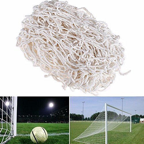 End Earnings - 24ft 8ft Size Senior Straight Football Net - Reticulation Profit Income Final Sack Take-Home Meshwork Lucre Destination - 1PCs