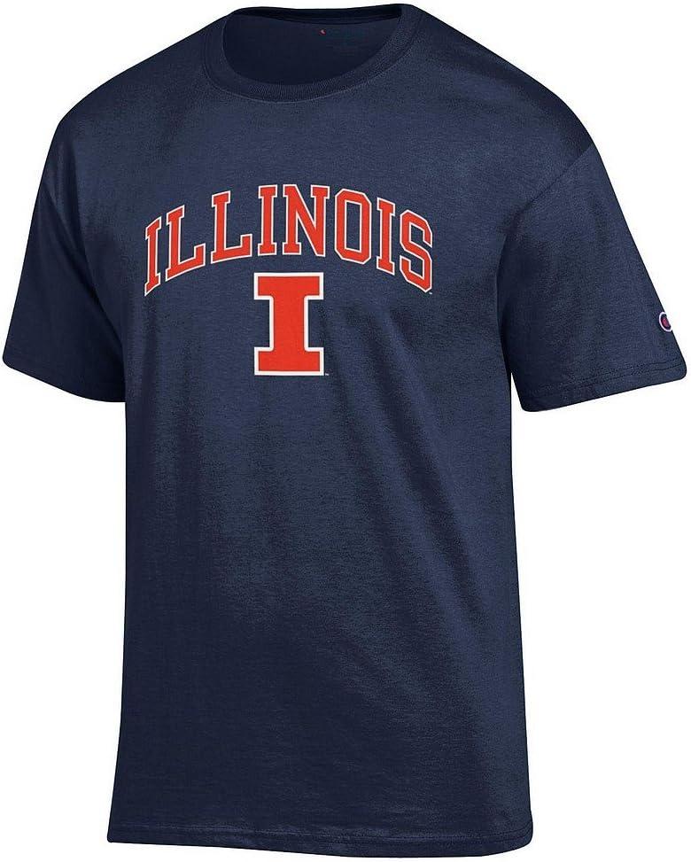 Elite Fan Shop NCAA Mens Team Color Short Sleeve T-Shirt Arch