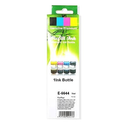 Cartridgex - Recambio de Botella de Tinta para Epson L100 ...