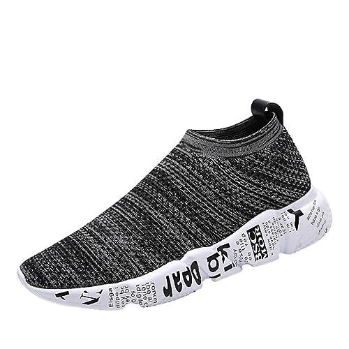 Logobeing Zapatillas Deporte Hombres - Zapatos de Correr Padel para Hombre Zapatos de Gimnasia de Running
