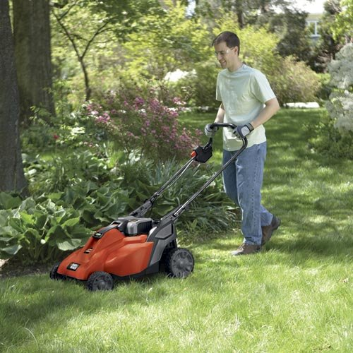 Black Amp Decker Cm1936za 36v Cordless Lawn Mower 19