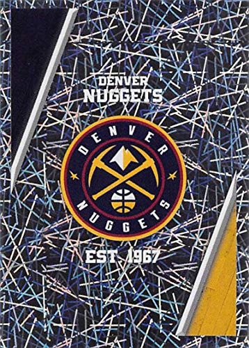 2018-19 Panini NBA Stickers #218 Denver Nuggets Logo Foil Denver Nuggets NBA Basketball Sticker Trading Card