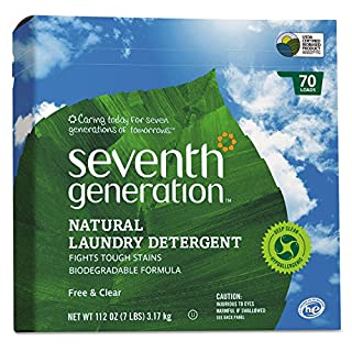 Laundry detergent seventh generation powder do it yourselfore seventh generation powder laundry concentrated free and clear 112 ounce packaging may solutioingenieria Images