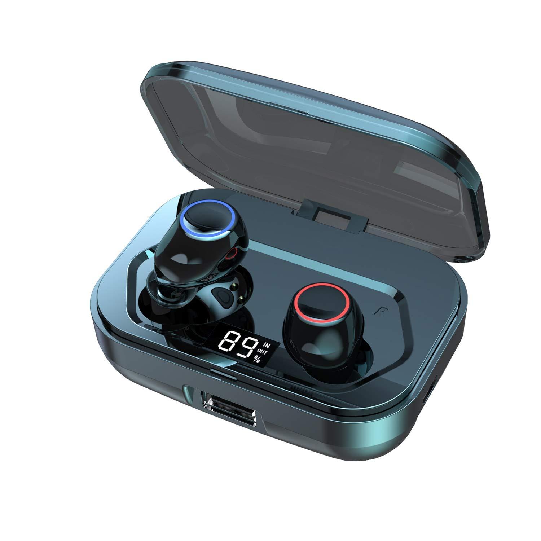 Bluetooth Earbuds Geektop B2 Wireless Earbuds in-Ear Headphones 120h Playtime IPX7 Waterproof