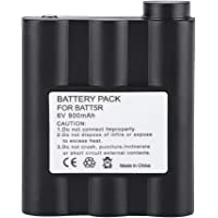 Mugast 6V BATT5R Walkie Talkie Battery, 900mAh Rechargeable Battery Replacement for Midland Two-Way Radio GXT1000 GXT1000VP4 GXT1050 GXT1050VP4 GXT900 GXT950 GXT991 HH54 HH54VP HH54VP2, etc