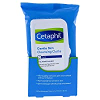 Cetaphil Gentle Skin Cleansing Cloths for Dry, Sensitive Skin, Face Cleansing Wipes, 25 Count (Pack of 3)