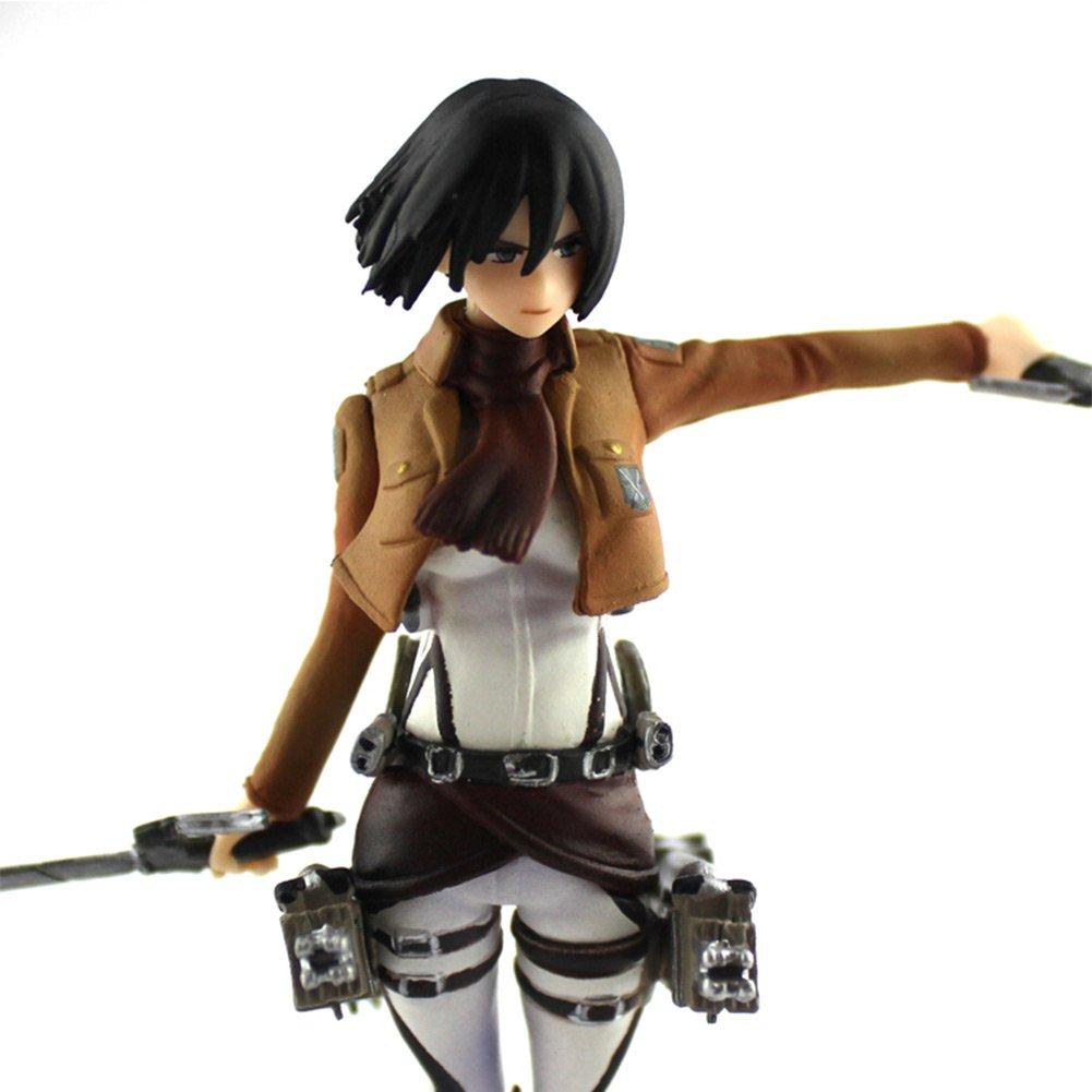 Attack on Titan Mikasa Ackerman 5.5in Anime PVC Figure Collectible