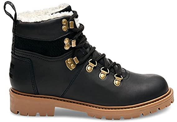 3cb18a579a0 Image Unavailable. Image not available for. Colour  Toms Womens Black Summit  Hiker Boots-UK 4