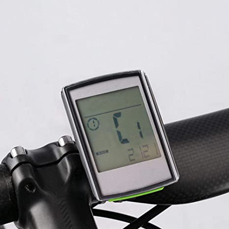 VGEBY1 Cuentakilómetros para Bicicletas, velocímetro Digital para ...