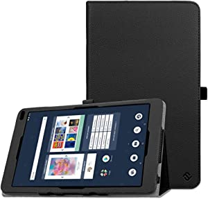 Fintie Case for Barnes & Noble Nook 10.1 Tablet, Premium Vegan Leather Folio Stand Cover with Auto Wake and Sleep for Nook 10.1 Inch Model BNTV650 Tablet, Black