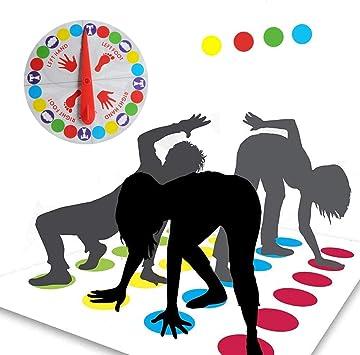 Funmo - Juego de Piso, Juego de Mesa para Familia y Fiestas, Divertidos Juegos de Habilidad para niños y Adultos,Juego de Piso: Amazon.es: Juguetes y juegos