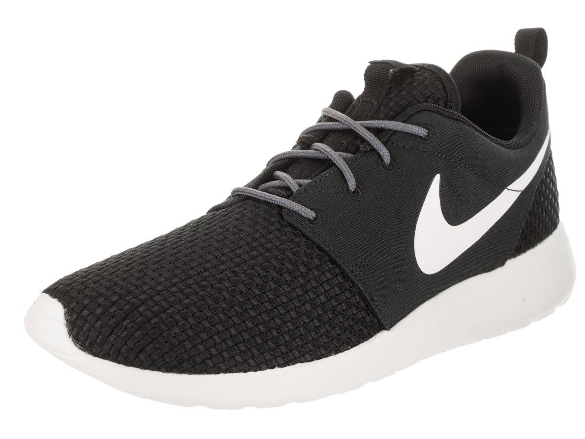 NIKE Men's Roshe One SE Running Shoe B07CK8J8TR 10.5 D(M) US|Black/Sail-dark Grey