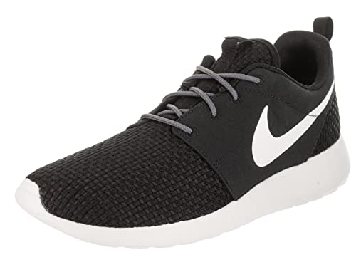 9de2eeaeccbb Nike Men s Roshe One SE Black Sail Dark Grey Running Shoe 8.5 Men US