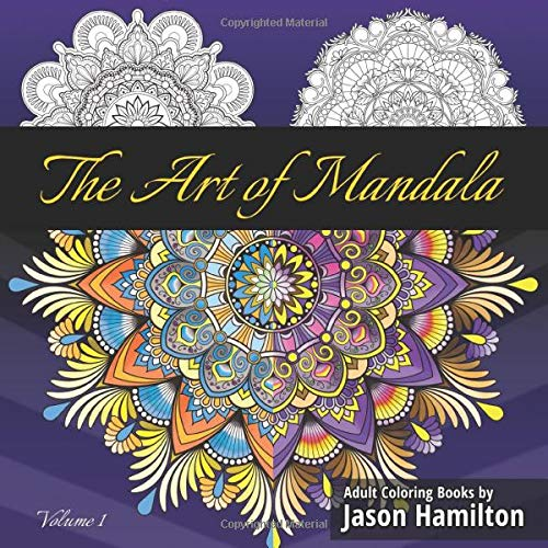 Art Mandala Coloring Featuring Beautiful product image