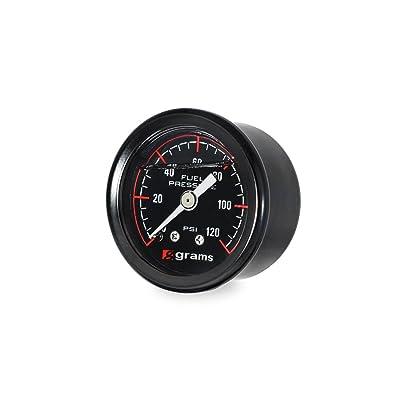 Grams G2-99-1200 Fuel Pressure Gauge, 1 Pack: Automotive