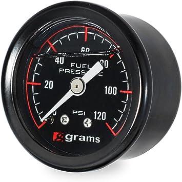20-0029 Radium Engineering 0-100 Psi Fuel Pressure Gauge By Jm Auto Racing