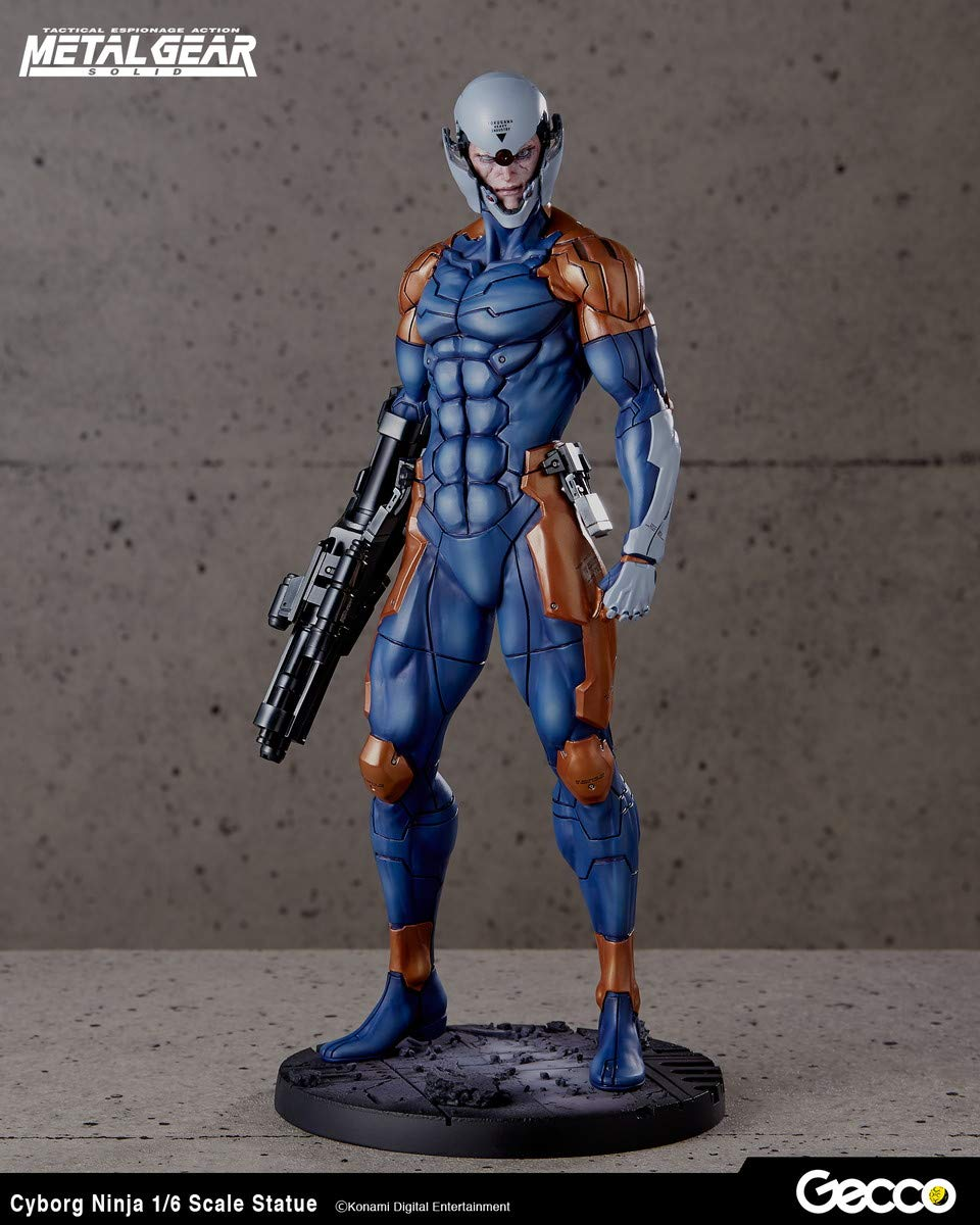 Amazon.com: GECCO Metal Gear Solid: Cyborg Ninja 1:6 Scale ...