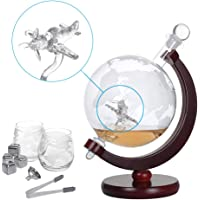 Nandae Set de Jarra de Whisky, Globe Decanter