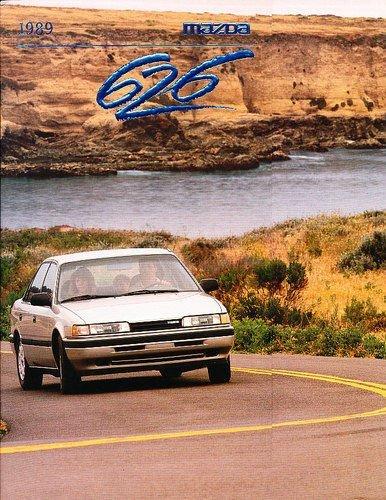 1989 Mazda 626 Sales Brochure Catalog