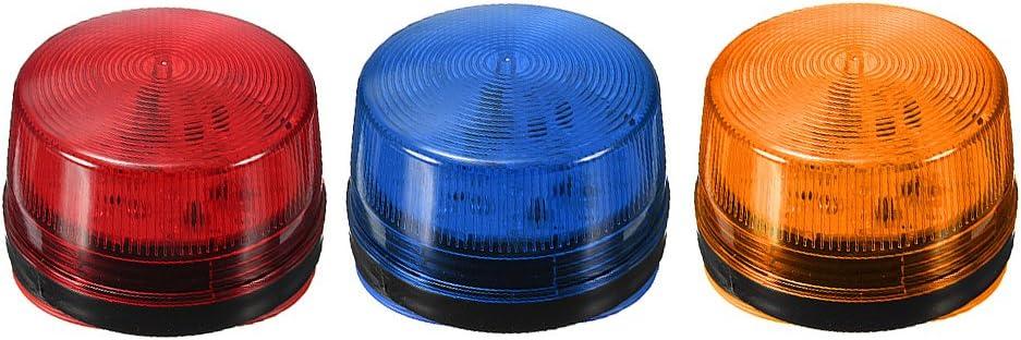 Sharplace Sicherheitsalarm Leuchte Blau Alarm Licht f/ür Baustelle Eintritts Warnung