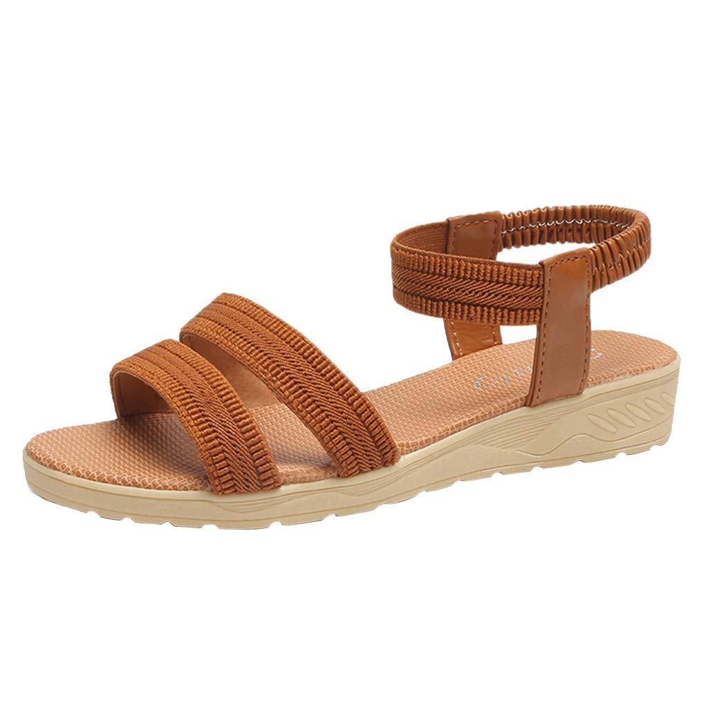 Sandalias De Mujer Verano 2019 Planas Comodas Sandalias De Moda