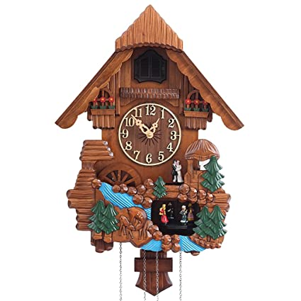 CZM ZHB Reloj Relojes de Cuco timekeeping Europea Reloj de Pared de la Manera Pastoral Creativa