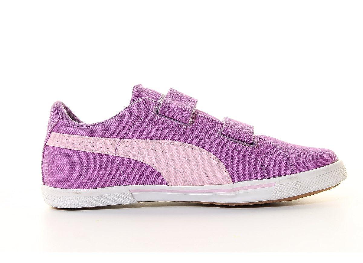 Puma Benecio Canvas V bambini Casual Shoes Sneaker Berry