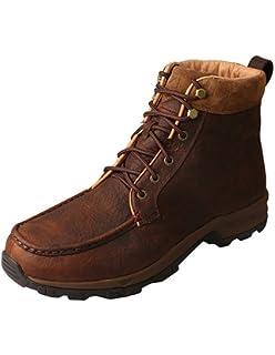 8e1af55ea18 Twisted X Mens Hiker Shoe Dark Brown