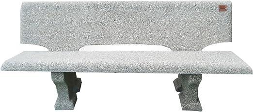 Panchine In Cemento Da Esterno.Artistica Granillo Panchina In Cemento Con Inerti A Vista 175x70