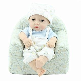 YYWJ Giocattoli ingannevoli Bambole del Bambino rinato Simulazione Morbida 22 Pollici 55 Cm Occhi Ragazza Aperta Regalo Preferito Realizzato a Mano Bella Baby Doll Mantenere Il Buon Umore