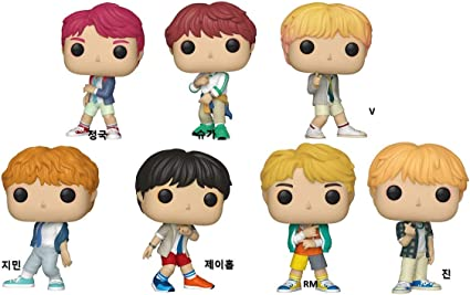 Funko BTS Jin Figura Coleccionable, 37862 Pop Vinilo