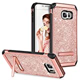 Best Galaxy S6 Phone Cases - Galaxy S6 Edge Case with Kickstand,GUAGUA Girls Women Review